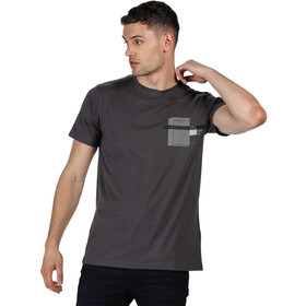 Regatta Cline IV Camiseta Hombre, seal grey marl